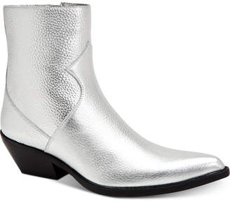 Calvin Klein Jeans Men's Alden Box Calf Leather Boots Men's Shoes