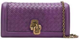 Bottega Veneta weave leather clutch
