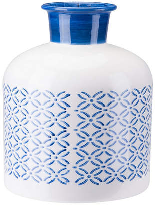 ZUO Bottle Lg Steel Blue And White