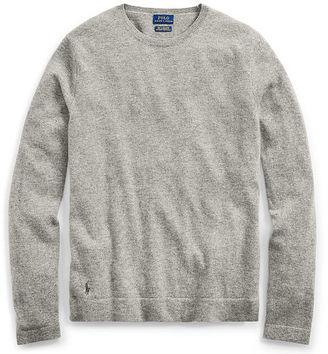 Polo Ralph Lauren Cashmere Long-Sleeve T-Shirt $245 thestylecure.com