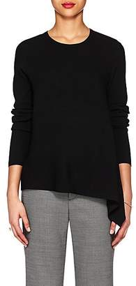 Derek Lam Women's Asymmetric Rib-Knit Sweater - Black