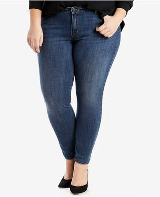 Levi's Plus Size 711 Skinny Jeans, Short and Reg Inseam