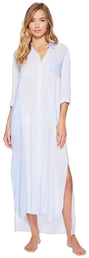 DKNYDKNY - Fashion Long Sleeve Maxi Robe Women's Robe