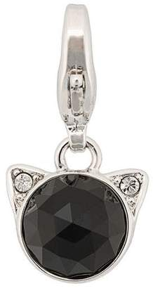 Karl Lagerfeld rose cut Choupette necklace charm