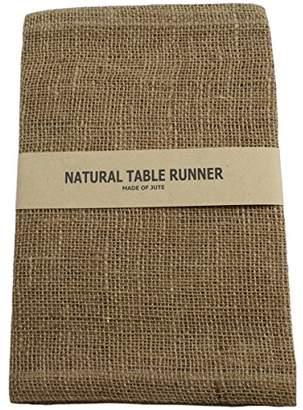 Kel-Toy Burlap Jute Table Runner/Fold and Sew Edge