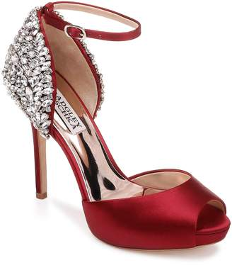 Badgley Mischka Ankle Strap Pump