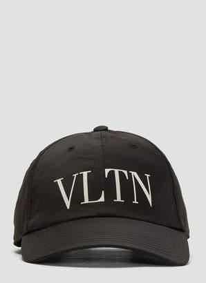 VLTN Baseball Cap in Black