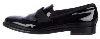 Salvatore Ferragamo Patent Leather Penny Loafers