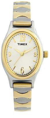 Timex Women's 2-Tone Classic Expansion Band Dress Watch $54.95 thestylecure.com