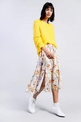 Glamorous **Floral Midi Skirt