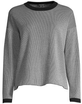 Eileen Fisher Striped Roundneck Top