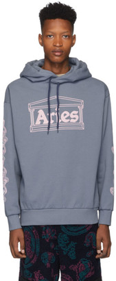 Aries Blue 2 Chains Hoodie