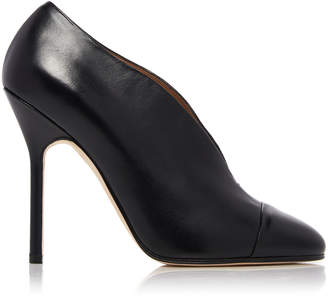 Victoria Beckham Refined Pin Leather Pumps
