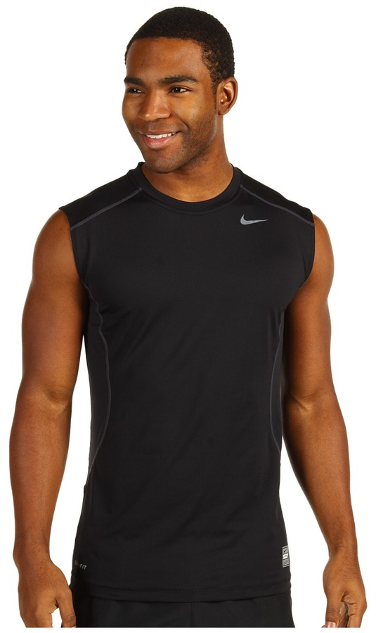 Nike Pro Combat Core Fitted S/L Shirt