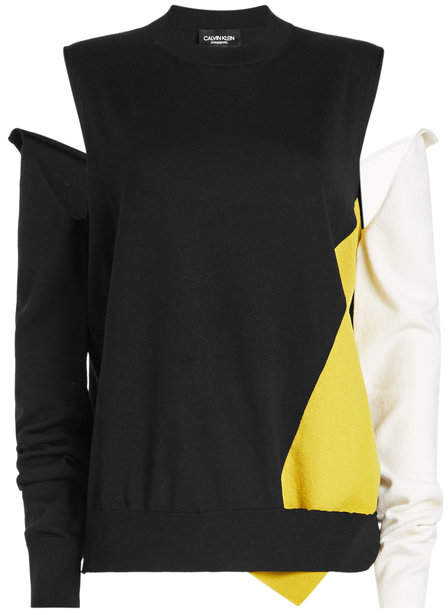 Pullover with Detachable Sleeves