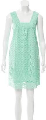 Calypso Eyelet Mini Dress