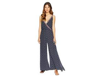 1 STATE 1.STATE Spaghetti Strap Jumpsuit w/ Embroidery