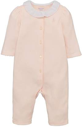 Ralph Lauren Girls Ruffle All In One
