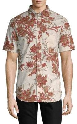 Reyn Spooner Spinnaker Short-Sleeve Button-Down Shirt