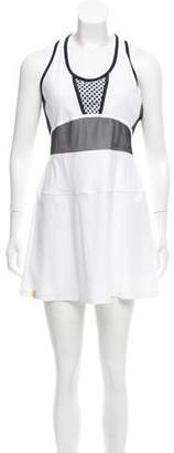 Monreal London Mesh-Paneled Mini Dress w/ Tags