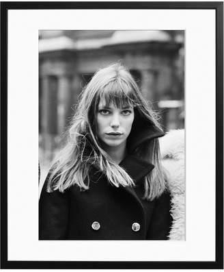 Sonic Editions Framed Jane Birkin In Paris 1969
