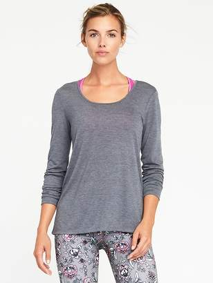 Old Navy Scoop-Back Performance Tee for Women