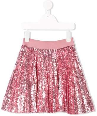 MonnaLisa sequin embellished skirt