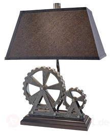 Industriell gestaltete Tischleuchte Old Industrial