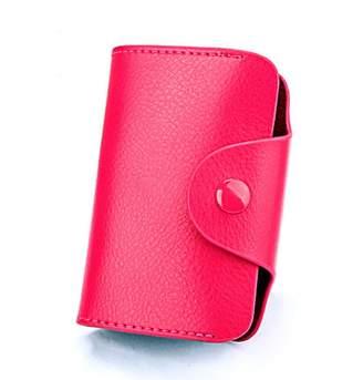 IBEXMAN Credit Card Holder 15 Cards Slots Leather Slim Wallet Business Card Case