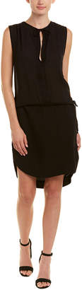James Perse Tie-Waist Shift Dress