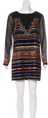 Mara Hoffman Geometric Sequin Dress w/ Tags