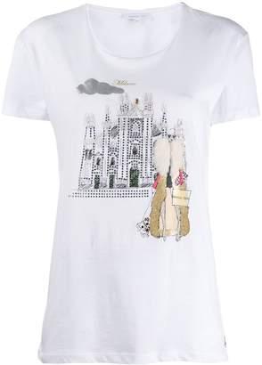 Patrizia Pepe Milano print T-shirt