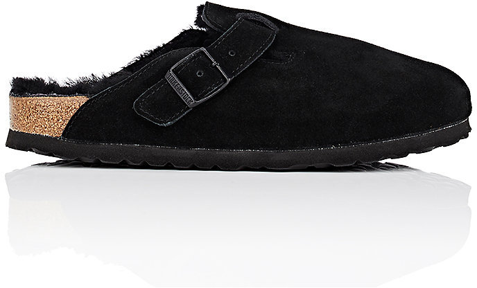Birkenstock Women's Boston Suede Clogs