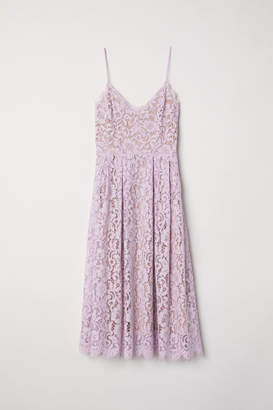 H&M Lace Dress - Purple