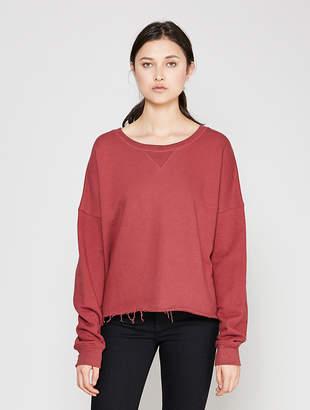 Simon Miller Brush Organic Cotton Terry Sweatshirt