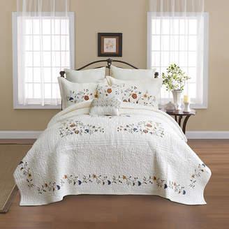 NOSTALGIA Nostalgia Home Alice Embroidered Bedspread