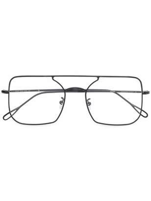 Kyme square aviator glasses