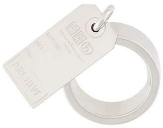 MM6 MAISON MARGIELA plate ring