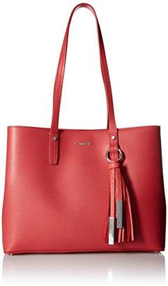 Calvin Klein Maggie Mercury Leather East/West Tote