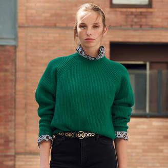 Sandro Dual material sweater