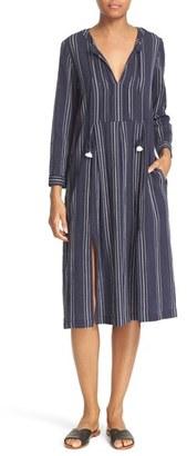 Women's Sea Slit Stripe Dress $425 thestylecure.com