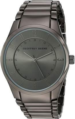Geoffrey Beene Men's Quartz Metal and Alloy Dress Watch, Color: (Model: GB8113GU)