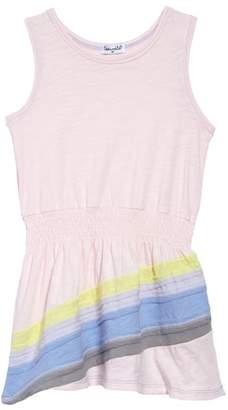 Splendid Rainbow Stripe Tank Dress