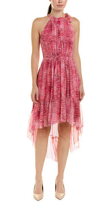 Elie Tahari Silk A-Line Dress