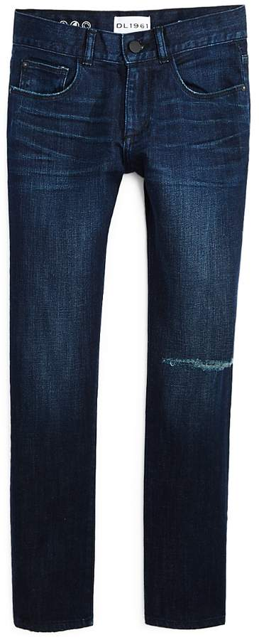 Dl DL1961 Boys' Slim-Fit Distressed Jeans - Big Kid