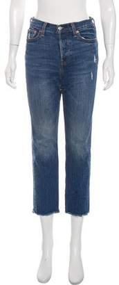Levi's Mid-Rise Straight-Leg Jeans