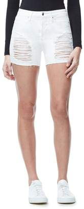 Good American Ripped Cut Off Jean Short - White004