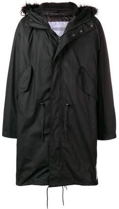 Calvin Klein Jeans Est. 1978 Core hooded parka