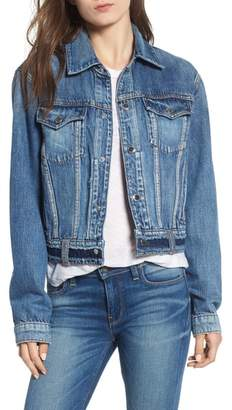 Hudson Crop Denim Jacket