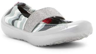 LUV Footwear Blanket Stripe Flat (Toddler Girl)